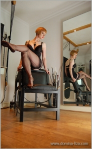 domina liza stockings